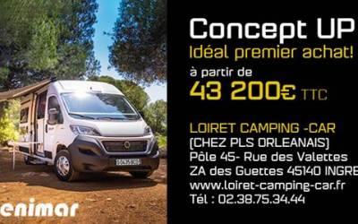 Livraison d'un Benimar Tessoro 463 par Loiret Camping Car d'Orléans