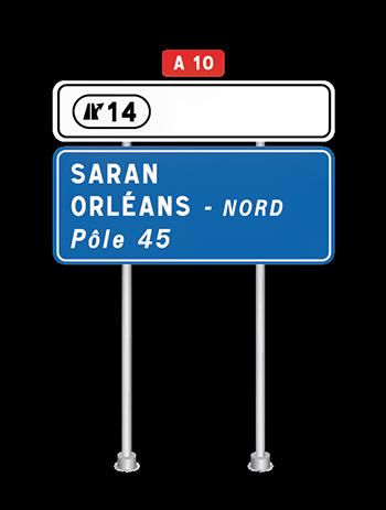 Panneau accès Iveco Orléans
